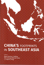 book cover of China's Footprints in Southeast Asia