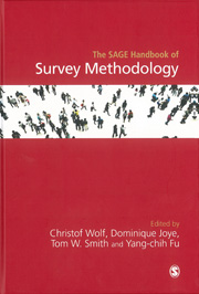 book cover of The SAGE Handbook of Survey Methodology